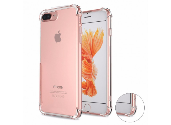 Coque iPhone 7 / iPhone 8 Clear Shock