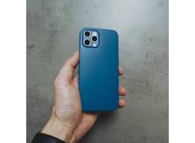 Coque iPhone 12 Ultra Thin 0.35mm-Blue