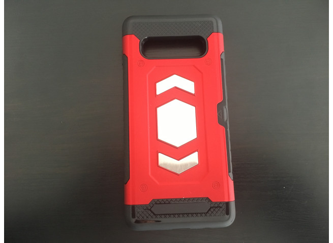 Coque Samsung Galaxy S10 Plus Survival Magnetic-Rouge