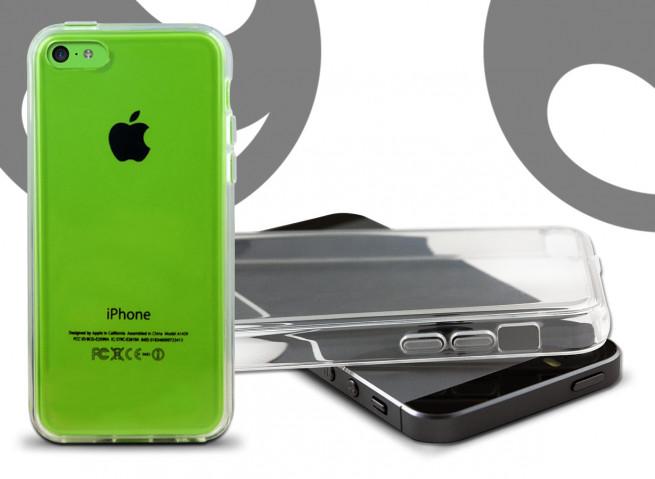 Coque iPhone 5C Clear Flex