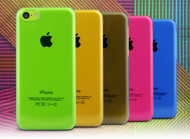 Coque iPhone 5C Clear Case