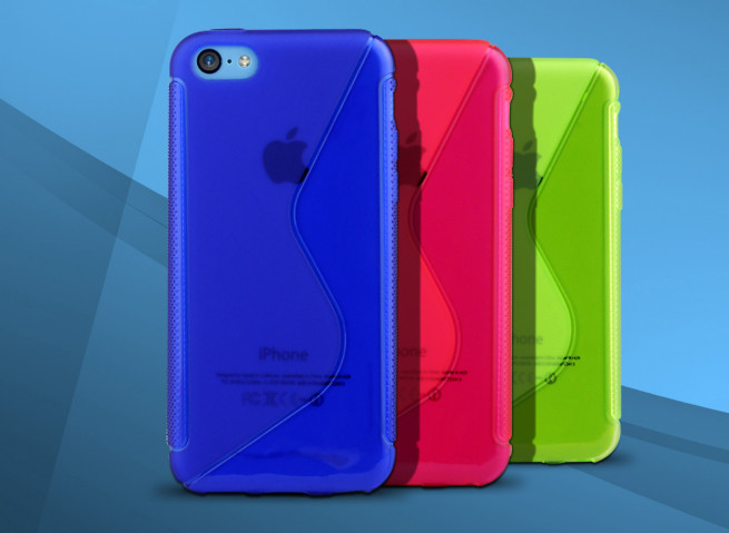 Coque iPhone 5C Grip Flex translucide
