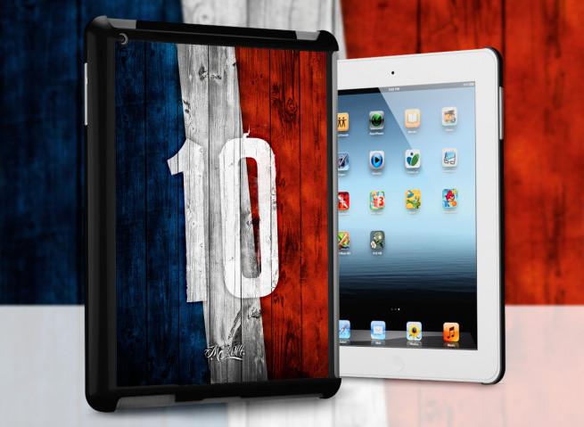 Coque iPad Retina / iPad 2 Coupe du monde 2014-France