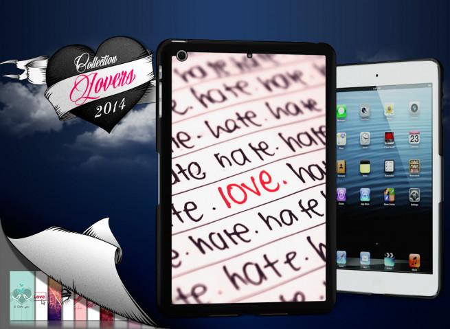 Coque iPad Mini Hate but Love