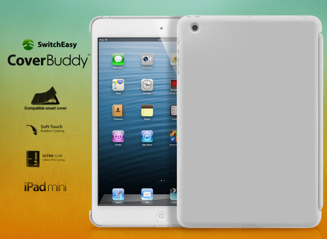 Coque iPad Mini CoverBuddy by SwitchEasy - Gris