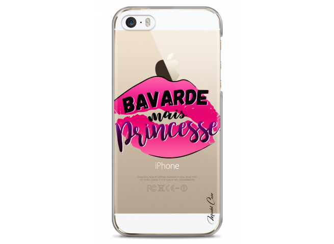 Coque iPhone 5/5s/SE Bavarde mais Princesse