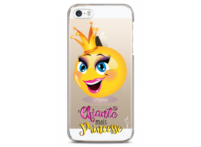 Coque iPhone 5C Chiante mais Princesse