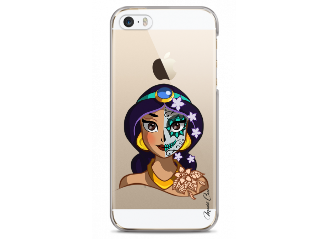 Coque iPhone 5/5s/SE Jasmine walt Disney face design