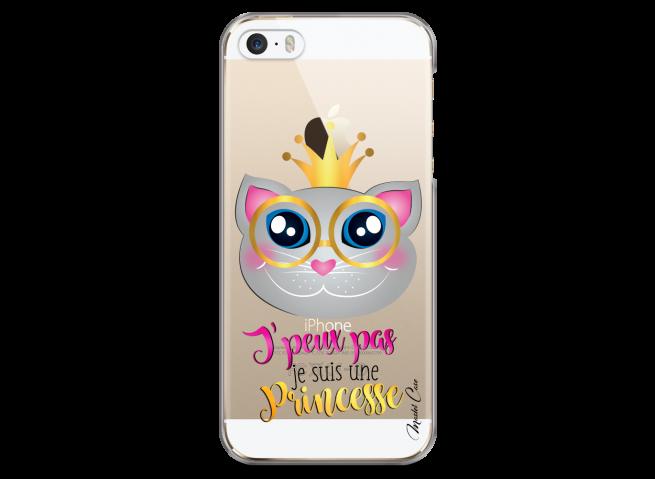 Coque iPhone 5/5s/SE Je suis une Princesse