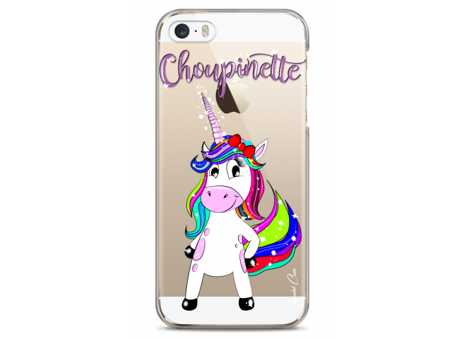 Coque iPhone 5C Licorne Choupinette