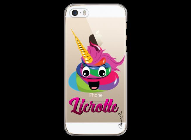 Coque iPhone 5/5s/SE Licrotte