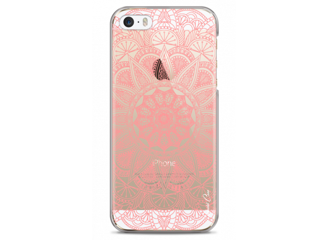 Coque iPhone 5/5s/SE Pink Mandala