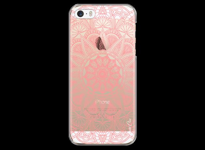 Coque iPhone 5C Pink Mandala