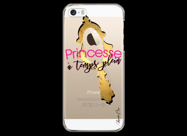 Coque iPhone 5/5s/SE Princesse à temps plein