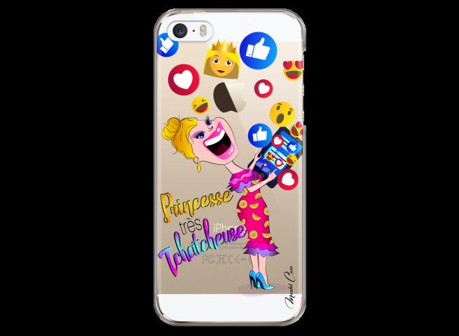 Coque iPhone 5/5s/SE Princesse très Tchatcheuse