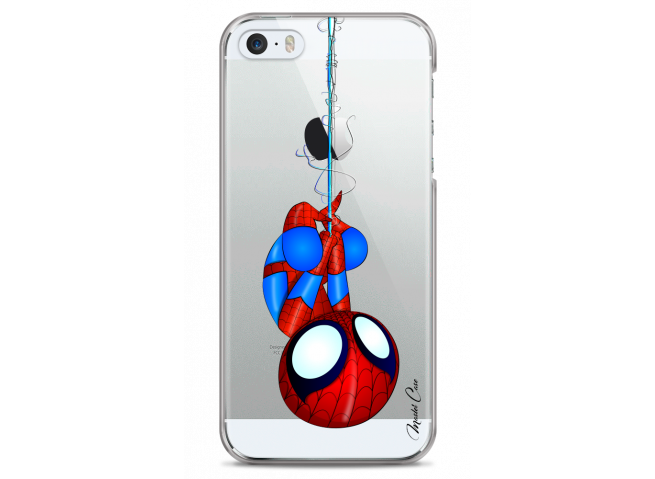 Coque iPhone 5C Spider-Man super héros