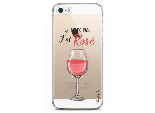 Coque iPhone 5/5s/SE J'ai rosé