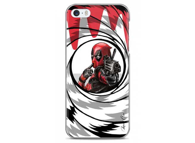 Coque iPhone 5C Deadpool 2 Bang Bond