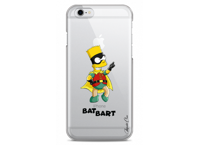 Coque iPhone 6/6S Super Bat Bart Simpson cartoon design