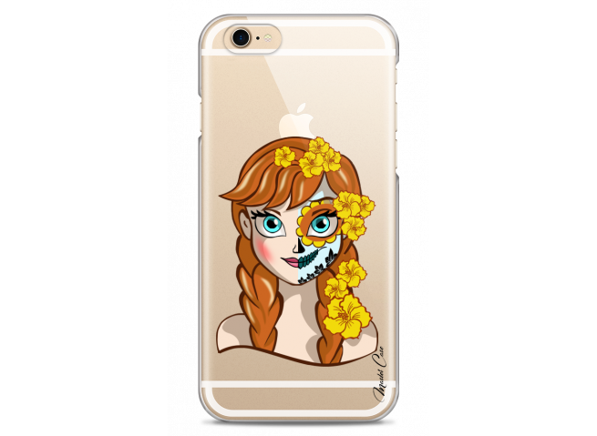 Coque iPhone 6Plus/6SPlus Anna walt Disney face design