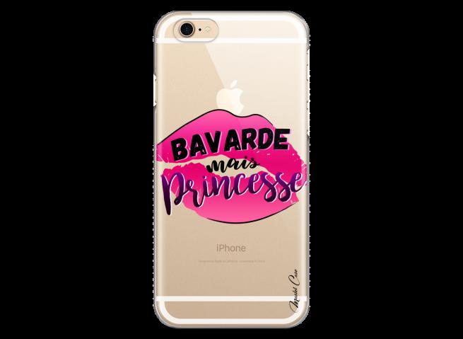 Coque iPhone 6Plus/6SPlus Bavarde mais Princesse