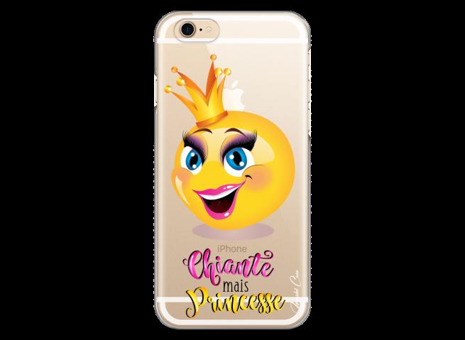 Coque iPhone 6/6S Chiante mais Princesse