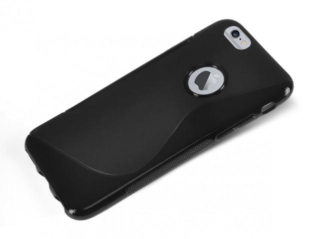 Coque iPhone 7 Plus Silicone Grip-Noir   Master Case