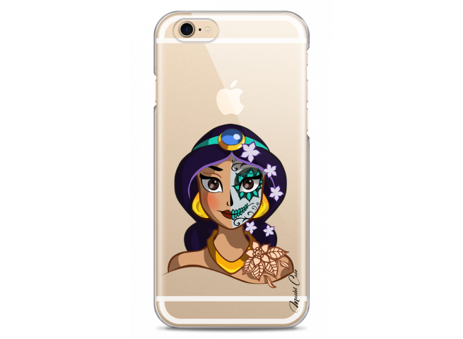 Coque iPhone 6/6S Jasmine walt Disney face design