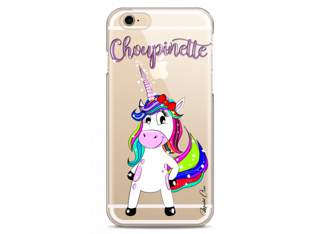 Coque iPhone 6Plus/6SPlus Licorne Choupinette