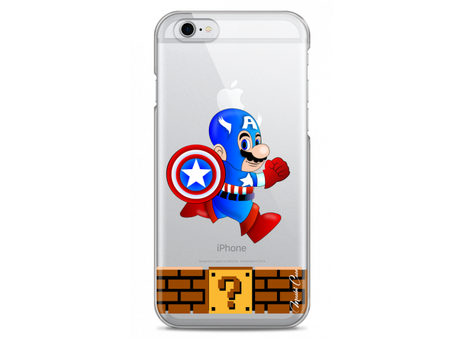 Coque iPhone 6Plus/6SPlus Plus Mario Captain
