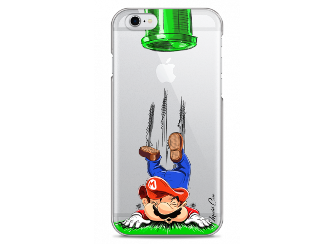 Coque iPhone 6Plus/6SPlus Plus Mario game over