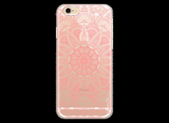 Coque iPhone 6/6S Pink Mandala
