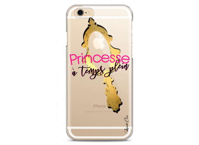 Coque iPhone 6Plus/6SPlus Princesse à temps plein