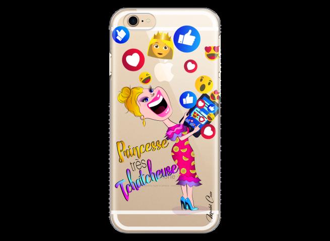Coque iPhone 6Plus/6SPlus Princesse très Tchatcheuse