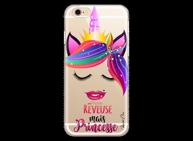 Coque iPhone 6/6S Rêveuse mais Princesse