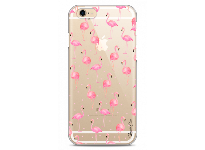 Coque iPhone 6/6S Summer flamingo pattern