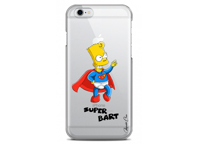 Coque iPhone 6/6S Super Bart