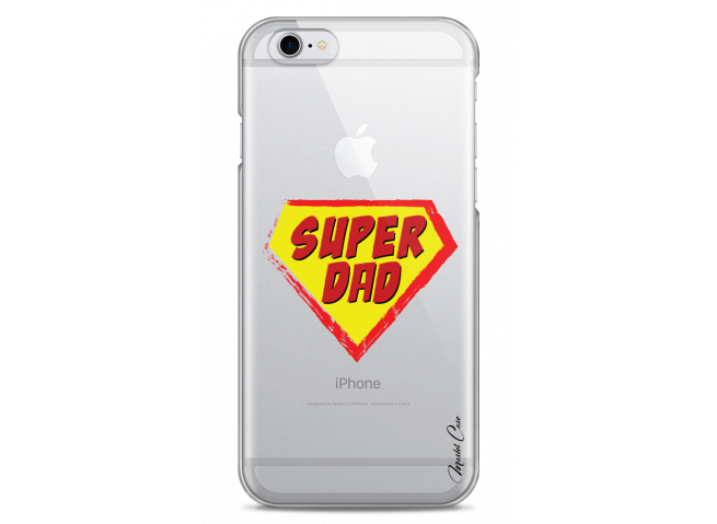 Coque iPhone 6Plus/6SPlus Super Dad - design