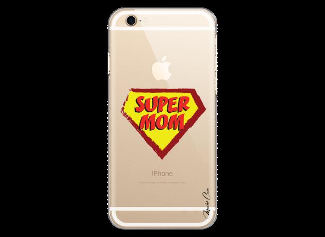 Coque iPhone 6/6S Super Mom - design
