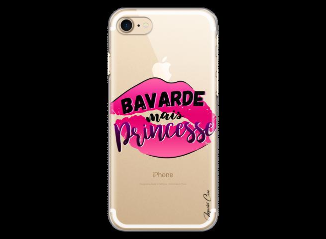 Coque iPhone 7/8 Bavarde mais Princesse