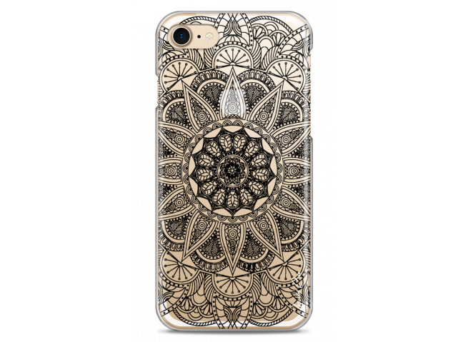 Coque iPhone 7/8 Black Mandala