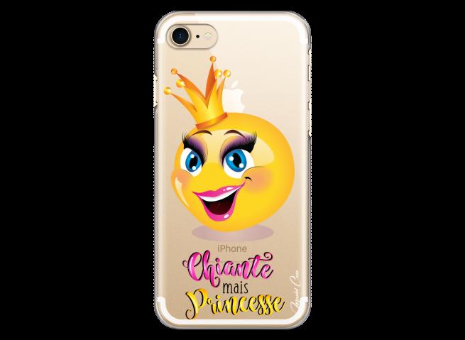 Coque iPhone 7/8 Chiante mais Princesse