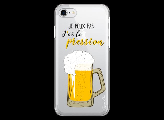 Coque iPhone 7Plus/8Plus J'ai la pression