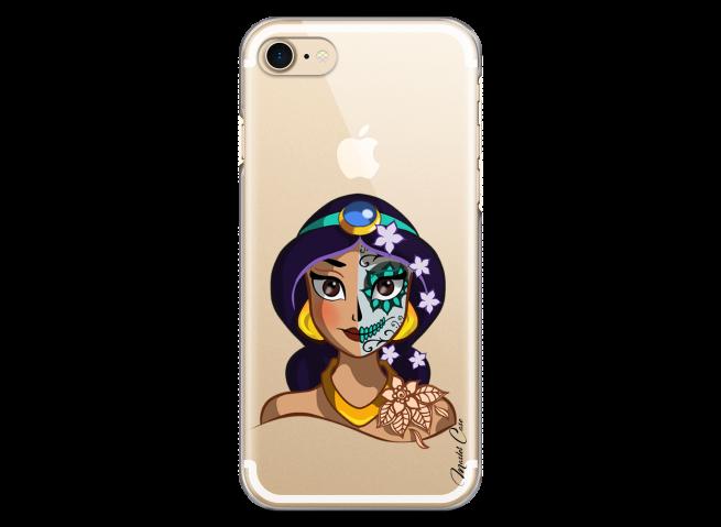 Coque iPhone 7/8 Jasmine walt Disney face design