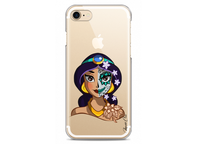Coque iPhone 7Plus/8Plus Jasmine walt Disney face design