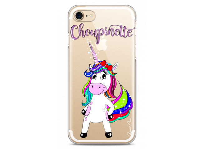 Coque iPhone 7/8 Licorne Choupinette
