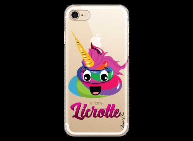 Coque iPhone 7Plus/8Plus Licrotte