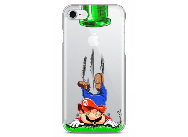 Coque iPhone 7Plus/8Plus Mario game over