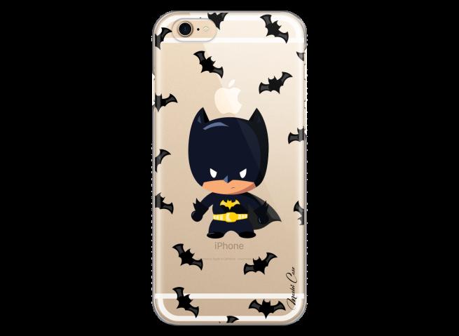 Coque iPhone 7Plus/8Plus Mini Batman cartoon design