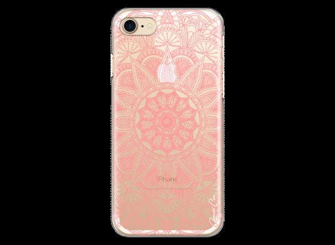 Coque iPhone 7/8 Pink Mandala